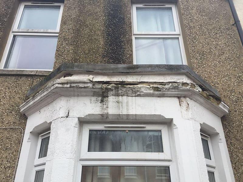 Stone Repair To Bay Window Steadfast