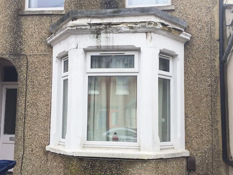 Stone Repair To Bay Window Steadfast