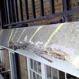 Damaged Concrete image 265px
