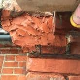 Picture showing how to repair broken brick