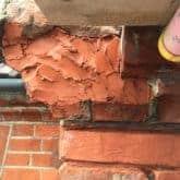 Picture showing how to repair broken brick