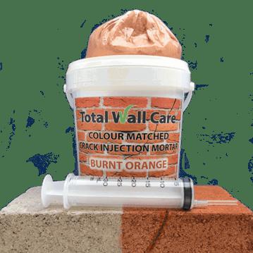 Crack Injection Mortar - Burnt Orange
