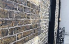 Brick tinting test panel