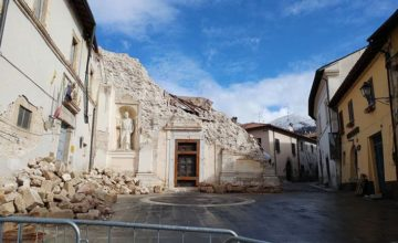 norcia earthquake damage