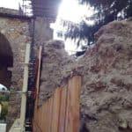 Earthquake damage Norcia Italy