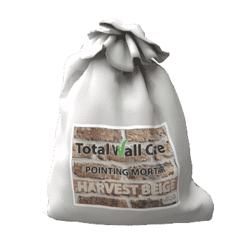 A bag of Pointing Mortar - Harvest Beige