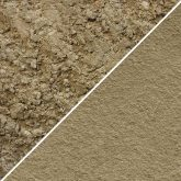 Sample of Sand Yellow Pointing Mortar Coarse and Fine