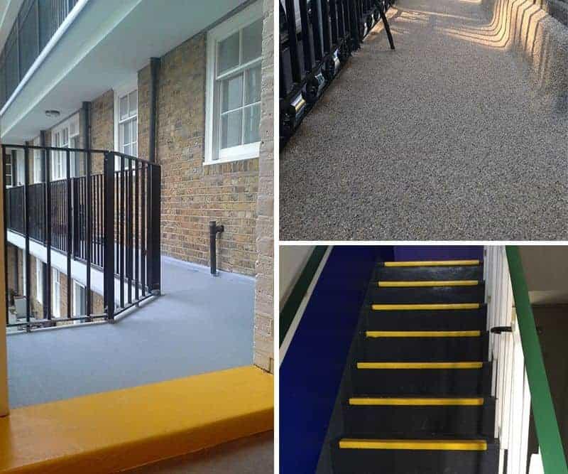 Polyac Rapid for Walkway Balcony Steps