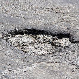 Pothole 265px