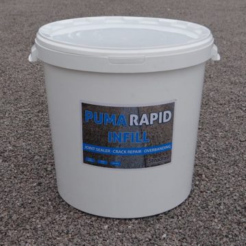 PUMA Rapid Crack Infill and Overbanding