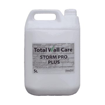 Picture of a 5L jerry can of Total Wall Care Storm Pro Plus