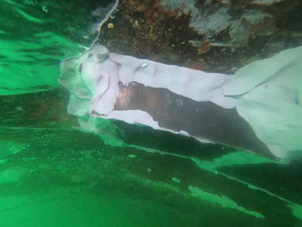 T-Fix Marine Repair - temporary repair to ship's hull