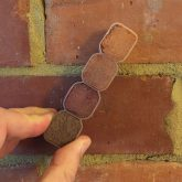 Image shows Colour matching bricks