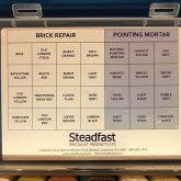 Repair Mortar Colour Sample Box - Colours