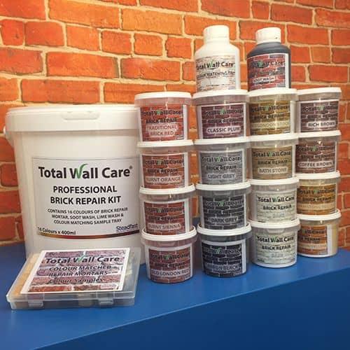 Total Wall Care Professional Brick Repair