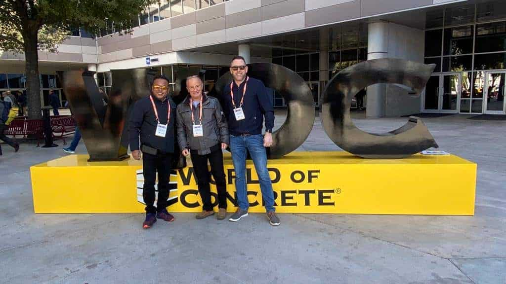 MD visits World of Concrete