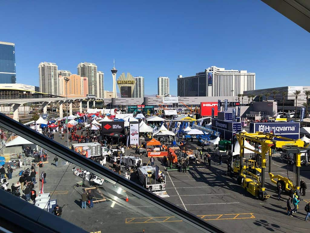 World of Concrete show