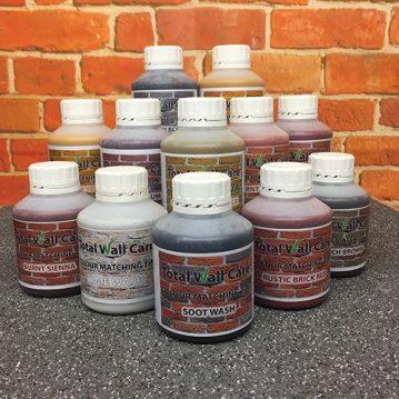 12 300ml bottles of Brick Tint