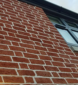 Finished Brick facade Restoration 265px